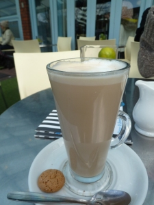 Latte in Lytham.