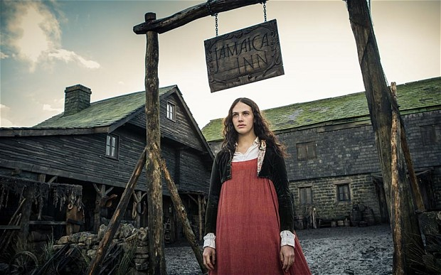 Jessica Brown Findlay in Jamaica Inn.