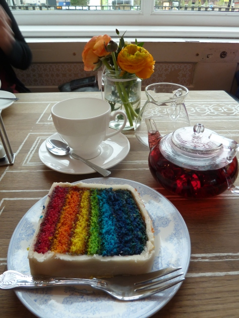 Ravishing Rainbow Cake at Propertea.