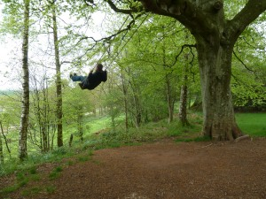 Never to old for a rope swing!
