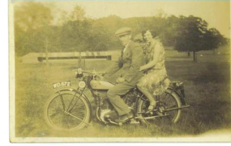 My maternal grandparents going for a spin.