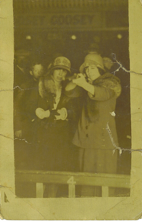 My maternal Grandmother and my Great Aunt Lily ~ you didn't want to get on the wrong side of them. ; )
