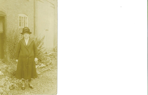 Here's my Great Grandmother 'Phoebe' in her Sunday best. :)