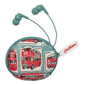 Mini London buses earphones and pouch £25.