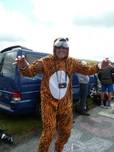 Grrrrrr Tiger on tour.