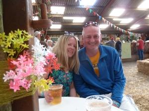 Saturday night in the Festival Bar.