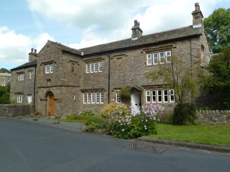 Typical village cottages.