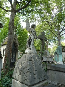 Pere Lachaise is full of angels.