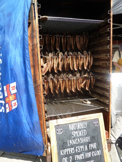 Smoked kippers.