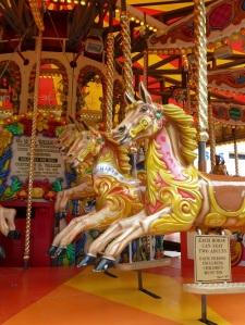 Carousel ride.