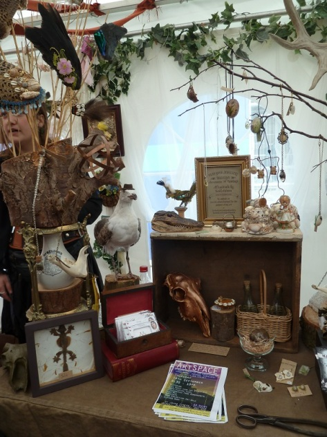 Nicola Hebson's 'Dead Good Jewellery and Taxidermy.