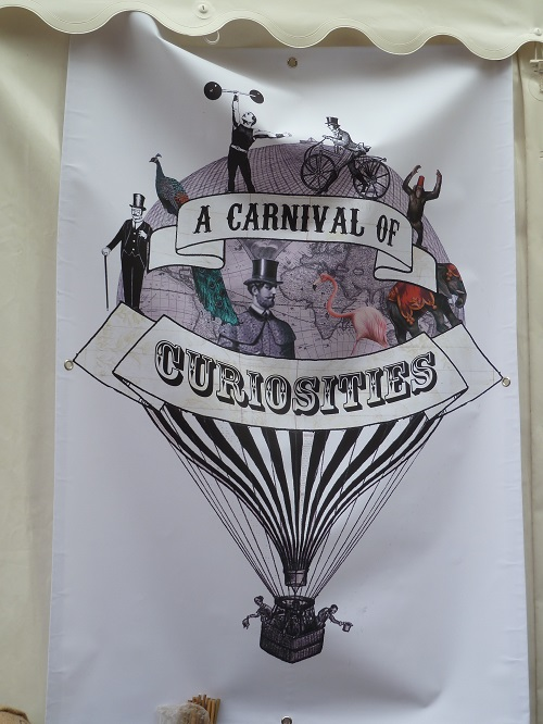 a Carnival of Curiosities in Blackburn.