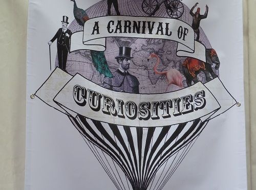 a Carnival of Curiosities in Blackburn.