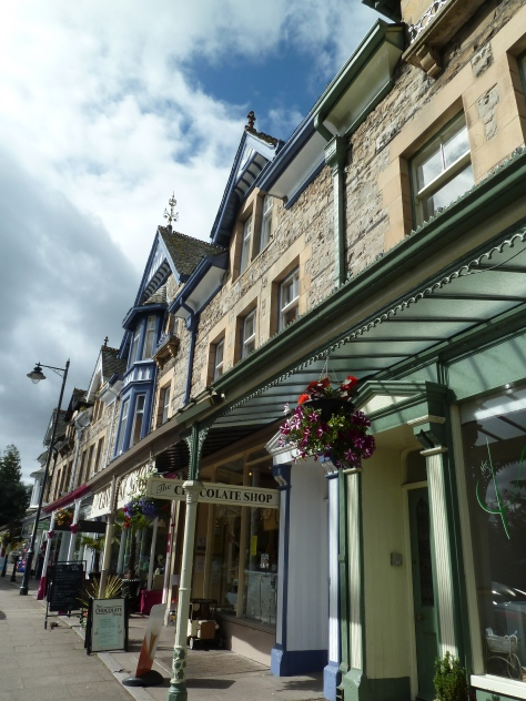 Edwardian shop fronts.