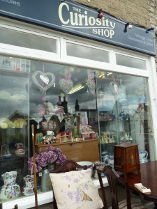 Curiosity  shop in Grange.