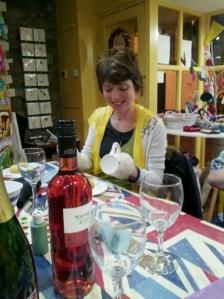 Helen and her marvellous mug.