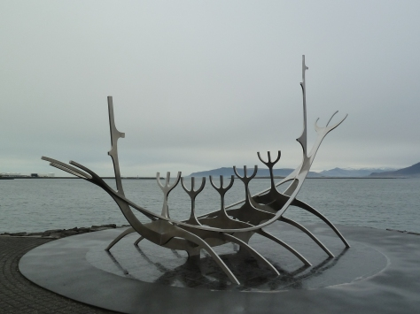 Solfar Sculpture.