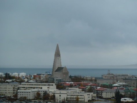 View of Hallgrimskirkja from the Perlan.