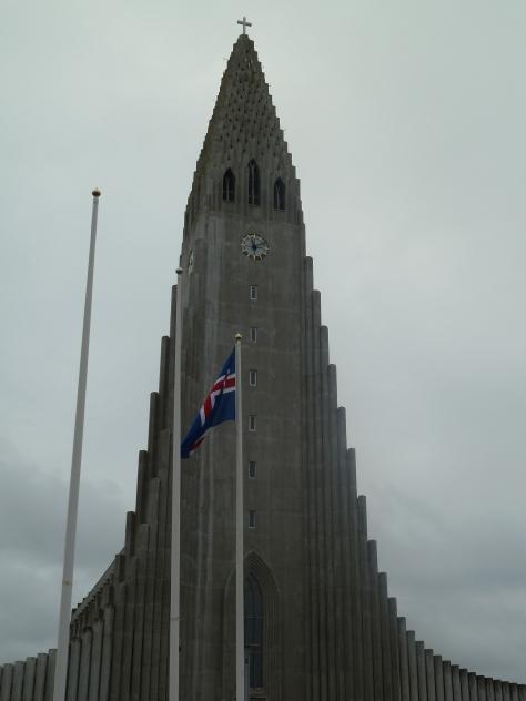 Hallgrimskirkja Church, a focal point of the city.