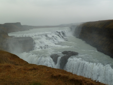 Gullfoss - The Golden Falls.