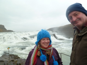 Gullfoss from the top.