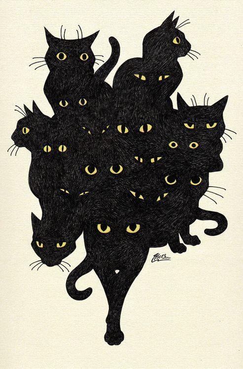 A Celebration of Black Cats ~^^~