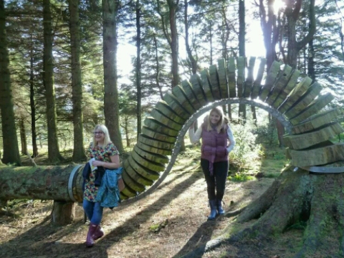 Pendle Sculpture Trail.