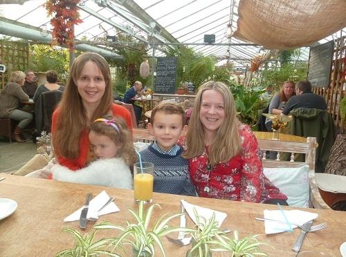 Birthday lunch at Stydd Gardens.