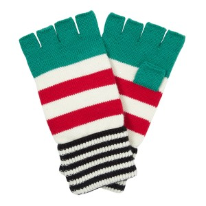 Striped Gloves. £20.