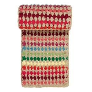 Stripy Crochet Scarf £35.