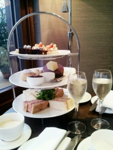 Afternoon tea at Northcote Manor.