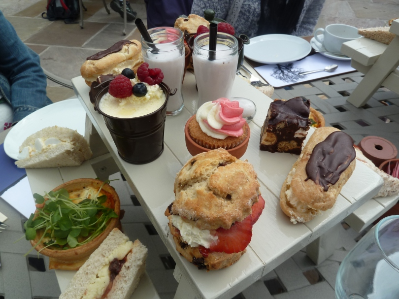 Picnic Bench Afternoon Tea.