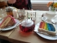 Tea and cake in Manchester.