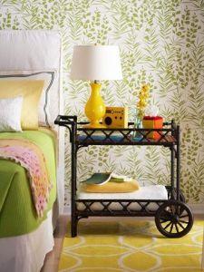 Bed side cabinet.