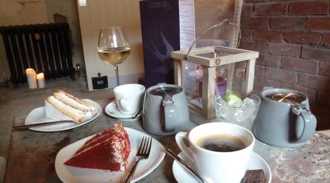 Escape for Coffee…..and cocktails……..and cake!