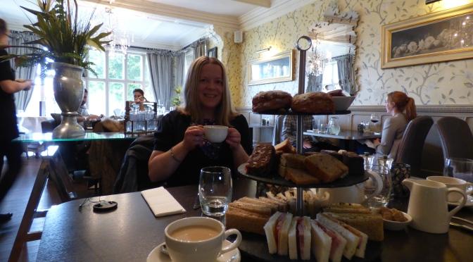 Mitton Hall Afternoon Tea.