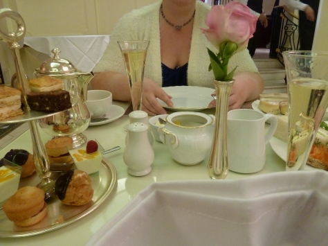 Afternoon Tea at the Bentley.