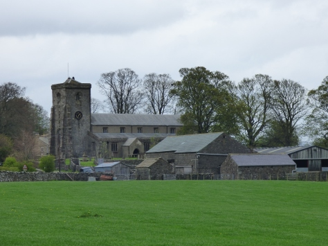 The village of Slaidburn.