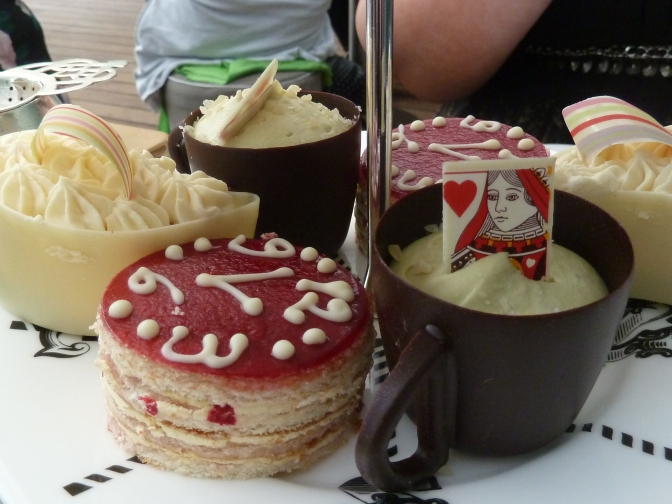 A Mad Hatters Afternoon Tea at the Sanderson.