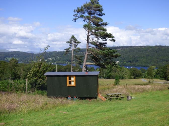 Herdy Huts ~ My stay in a Shepherd's Hut. :)