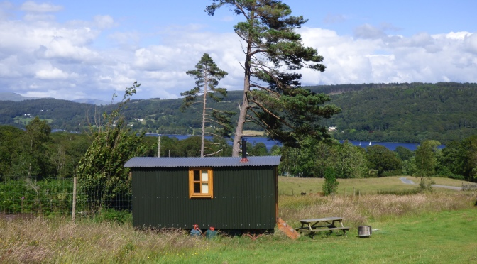 Herdy Huts ~ My stay in a Shepherd's Hut. :)