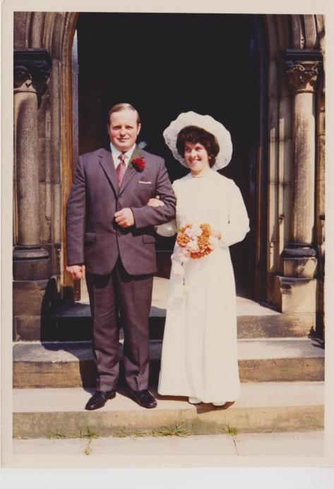 Dad and Mum.