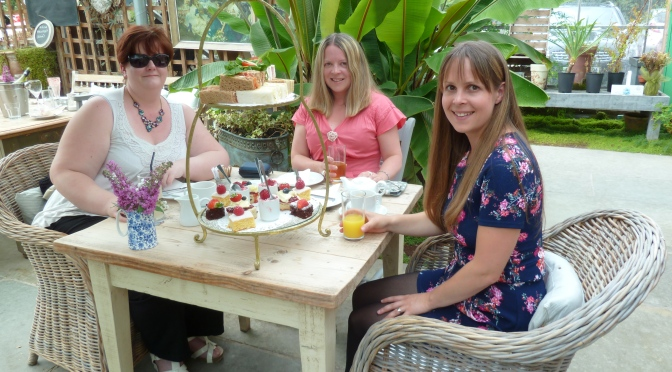 Afternoon Tea at the Glass House in Ribchester.