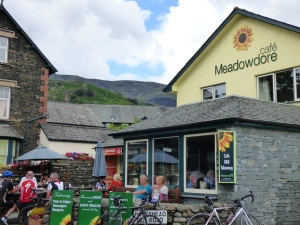 One of Coniston's popular cafes.