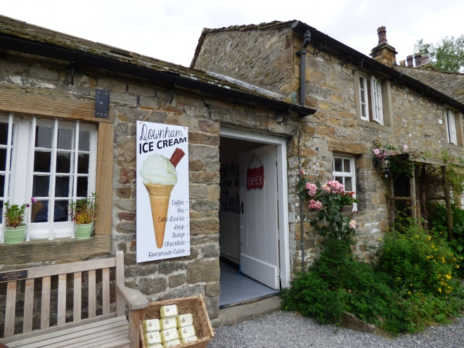On the way home we stopped off in Downham for an Icecream. :)