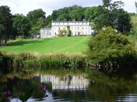 Waddow Hall on the banks of the Ribble.