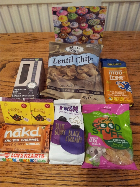 Vegan treats for Melike.