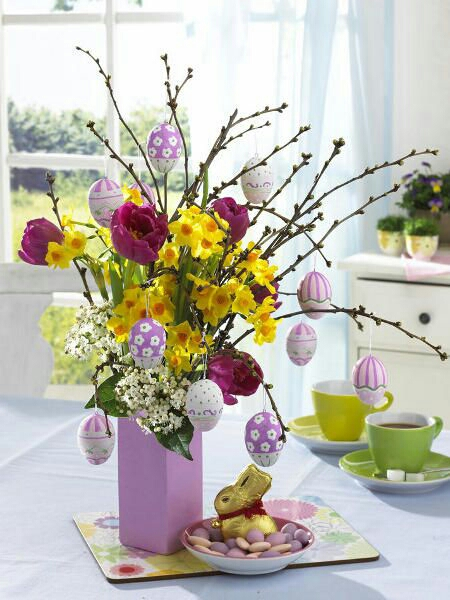 Easter Tree Pinspiration. <3