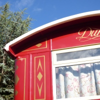 'The Duke' at Spring Park ~ Our stay in a Showman's Wagon.