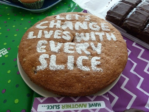 Macmillan World's Biggest Coffee Morning.